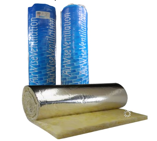 Duct Wrap Insulation - AWDW25mm