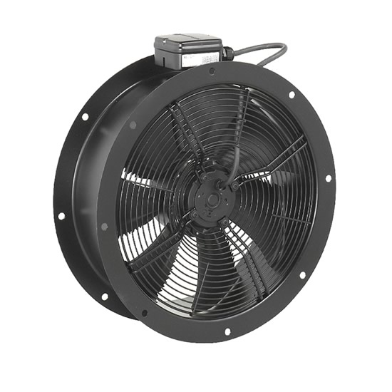 Systemair AR Sileo 710E6 Cased Axial Fan - Single Phase - IP54