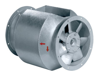 AXCBF 250D2-32 Bifurcated Axial Fan