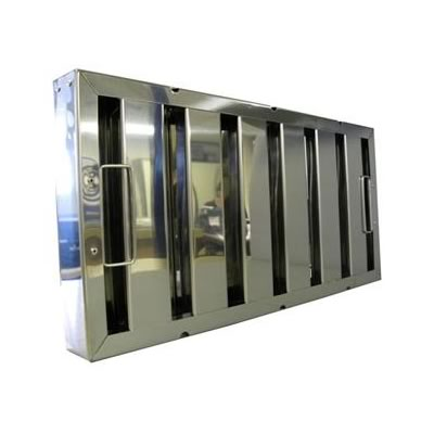 grease commercial kitchen grease filter baffle type