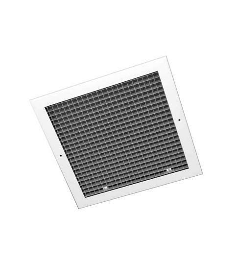 Silver Egg Crate Grille 595 x 595  - EC