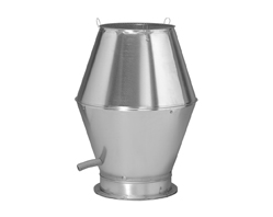 316 grade Stainless Steel Jet Cowl Ventilation Outlet - 315mm