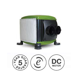 Multiple Input Ventilation MIV - Loft Mounted Unit