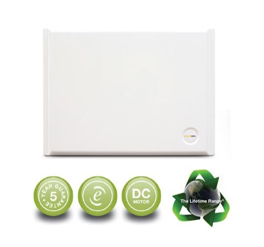 Positive Input Ventilation System - Wall Mounted Unit c/w Heater