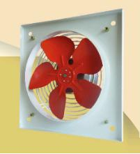 PVO 200 (2-POLE) Plate Axial fan