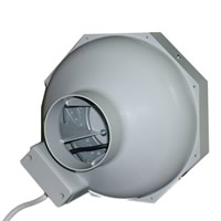 Plastic Tube Extractor Fan - 150mm 4 Speed