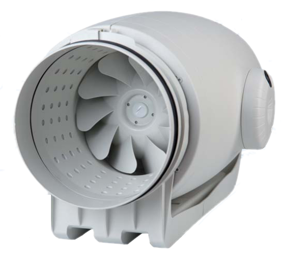 TD-SILENT Acoustic Inline Mixed Flow Duct Fan - TDSILENT