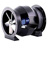 Bifurcated axial flow fan TET-N Series