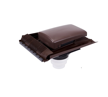 TILEVENT Universal Roof Outlet - Brown