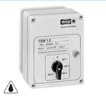 Helios TSW 10 Amp Transformer speed controller