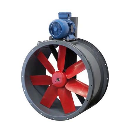 500mm Cased Axial Fans - - Belt Drive Case Axial Flow Fans - TTT