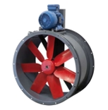 Belt Drive Cased Axial Fan - 500mm - H version