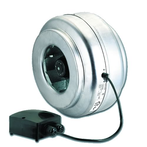 Metal Inline Fan - VENT-400K - T (3 Phase)