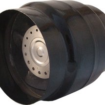 Heat Resistant In-line Axial Fan - VOK 150/120 H  (110v Version)