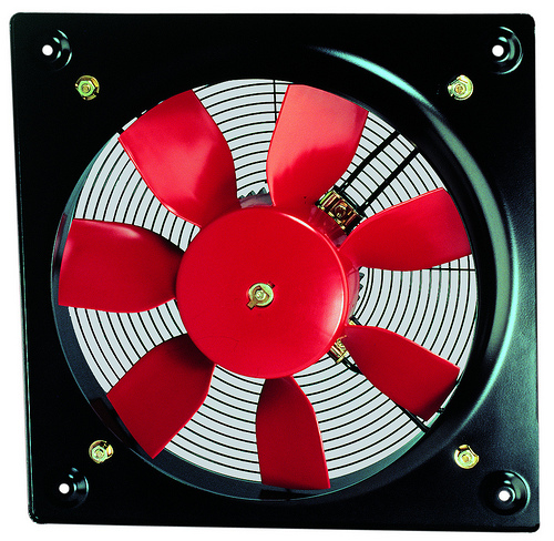 HCFT/4-400mm plastic impeller plate fan