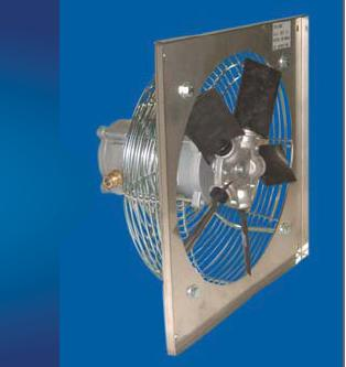 FlameProof Plate Axial Fan - Single Phase -FLP 10.5  Eexd IIC T4(2-pole)