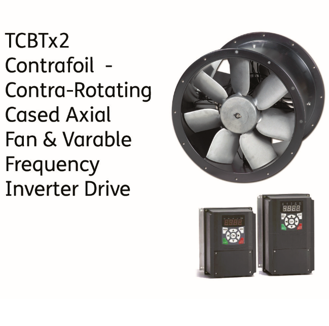 Contra Rotating- TCBTX2 Kitchen Fan/Controller Packages