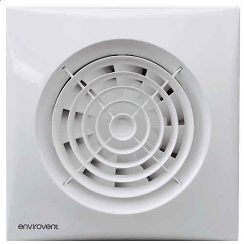 Bathroom Fan -ENVIROVENT- Silent 100 T (Timer Model)