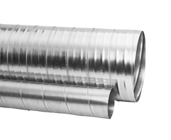100mm stainless steel spiral ducting