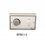 Electronic extractor fan speed controller - EFSC
