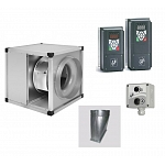 KABT High Temp Acoustic Kitchen Fan & Inverter Kit - KABT/4-3000/315 ND - Pack 1