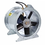 Revolution SLCX ATEX Long Cased Axial Flow Fan SLCX355/4-3 Three Phase