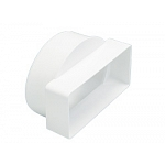 110 x 54mm Short Rectangular to Round Adaptor Female