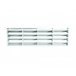 Airbrick Grill with flange - 204 x 60mm