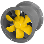 AL  400 D4 01 - High Performance Long Cased Axial Fan