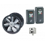 Cased Axial Twin Fan & Inverter Kit - TCBTx2/4-630 - Pack 4