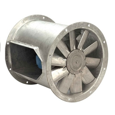 Biflow SB (CYL) Bifurcated Cylindrical Axial Flow Fan - 500mm 1