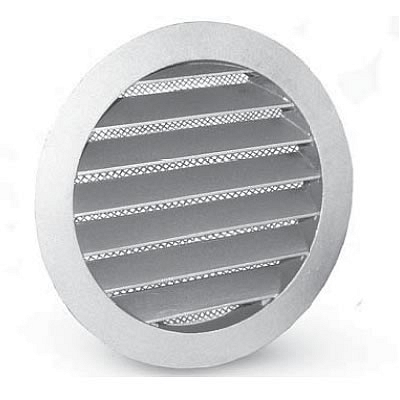 Metal External Circular Grill - Weather Louvre