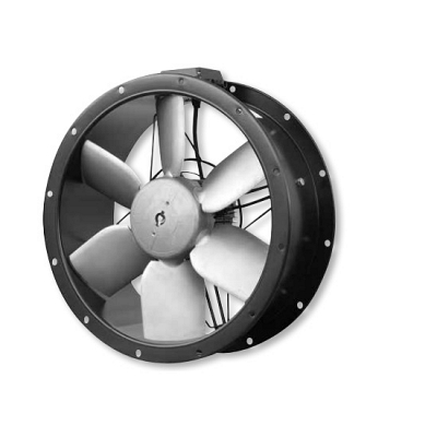 Industrial Kitchen Duct Extractor Cased Axial Fan 250-630mm Speed Controller